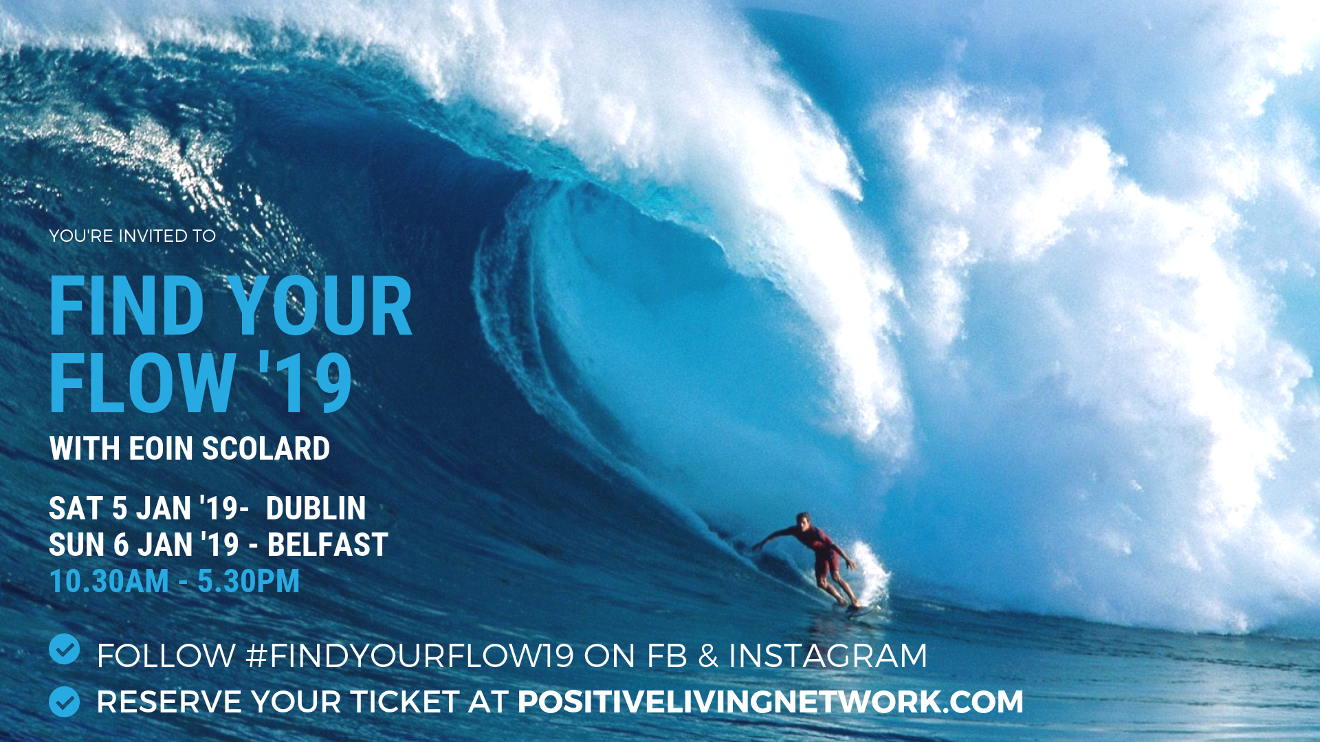 FIND YOUR FLOW '19 : DUBLIN